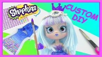 LIMITED EDITION CUSTOM 🖌 Shopkins Shoppie Gemma Stone 💎 Do it yourself video