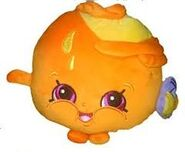 Juicy orange plush