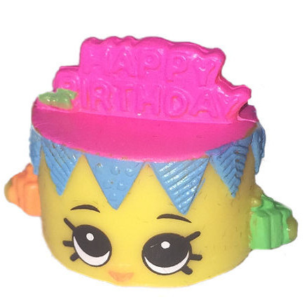 Birthday Betty Neon Yellow Shopkins Season 3 Exclusive Grande