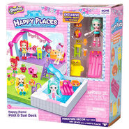 Shopkins Happy Places Happy Home Pool and Sun Deck