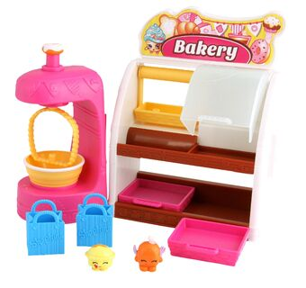 SHOPKINS EASY SQUEEZY FRUIT /& VEG STAND PLAYSET FOOD SHOP *BOXED*