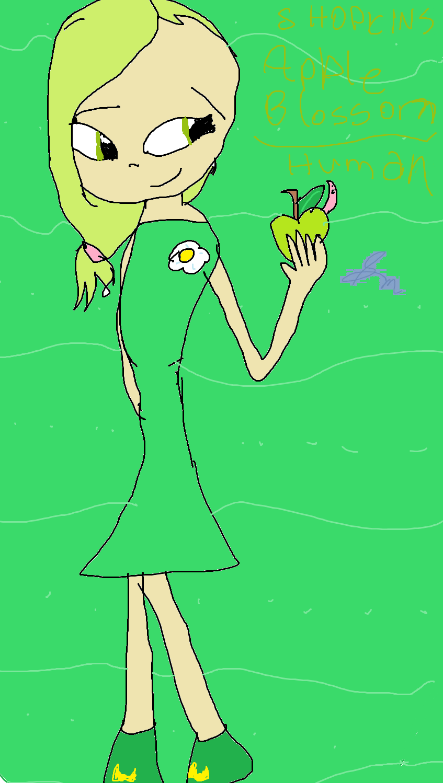 Shopkins Apple Blossom Human.png