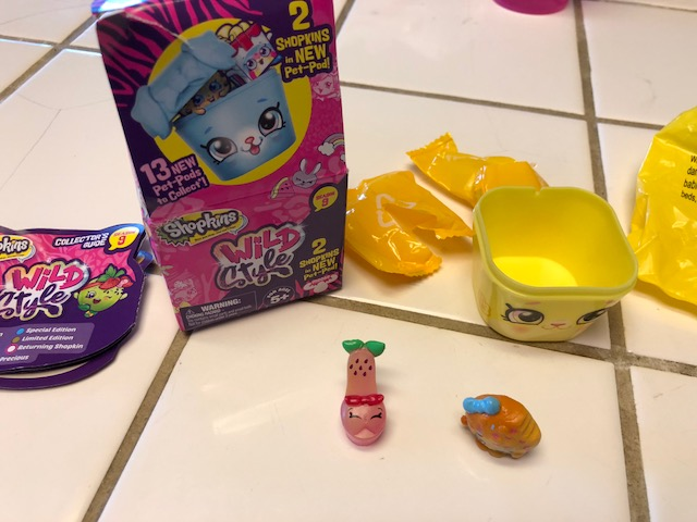Please Help Identify A Strawberry Shoe LookingShopkins That Came In