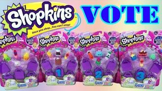 YOU PICK Shopkins Season 2 5 Pack Opening with Surprise Shopkins Toy Bind Bags