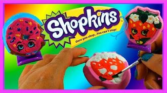 Shopkins Shaker Maker, DIY Shopkins, Paint and Style, Shopkins Season 1