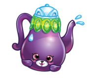 Polly teapot art