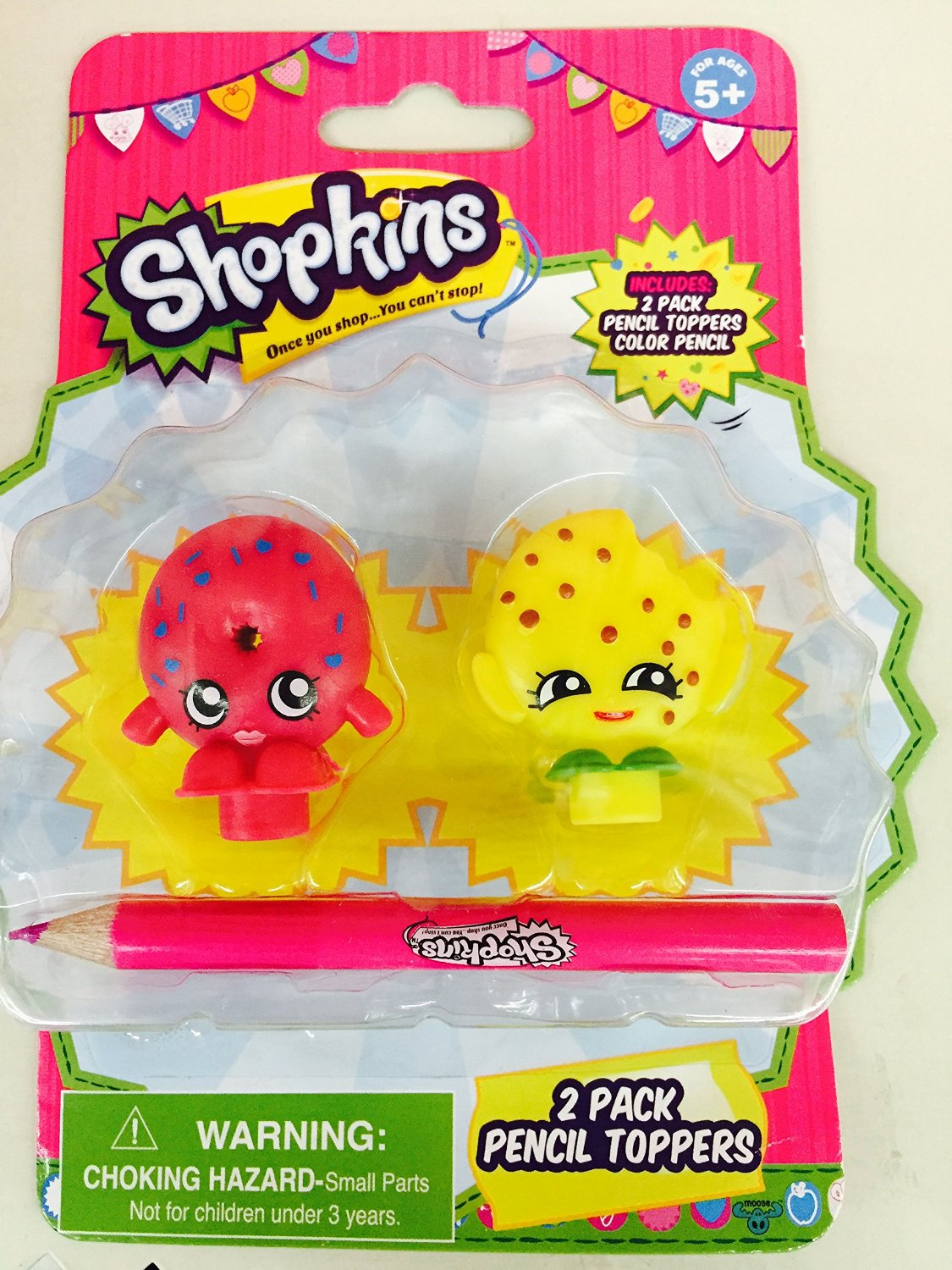 Shopkins pencil toppers
