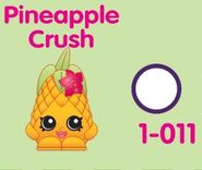 Pineapple Crush Variant Toy. PC CP