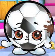 Cartoon Sadie Soccerball