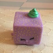 Lammy lamington food fair toy purple