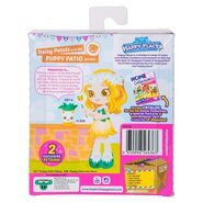 Daisy Petals Doll Back of Packaging