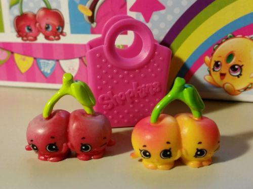 Shopkins Season 4 Cheeky Cherries  Pair 4 004 4 009 Shopping Bag 0c09cb9cc6976a469465442e4d4aeea8
