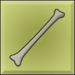 Item icon solid bone