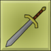 Item icon plain sword