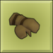 Item icon leather gloves