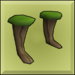 Item icon wood boots
