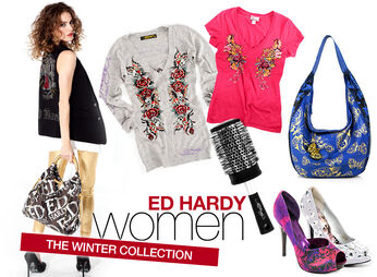 Womens Ed Hardy Clothing