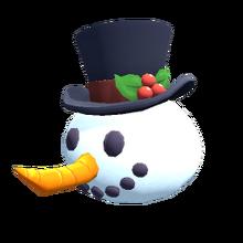 42 Snowman Head