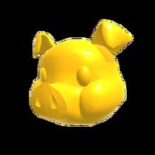 64 Pig Head Gold