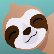 Sloth badge