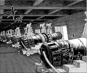 Small-bronze cannon