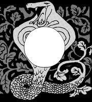 Red snake logo