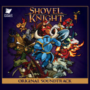 Shovel Knight Original Game Soundtrack Cover Art