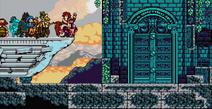 King's Roost door