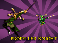 Body Swap Propeller Knight Card