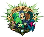 Plague of Shadows 4th year anniversary