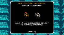 Dragon Goldarmor ulocked