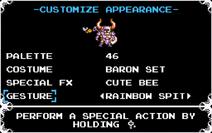 Customize Appearance (Custom Knight)