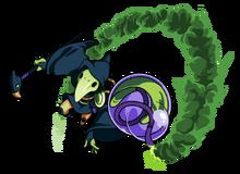 Plague Bounce Bomb Art