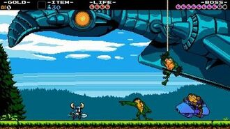 Shovel Knight and Battletoads Teaser