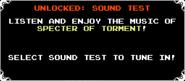 Sound Test Unlock