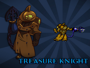 Body Swap Treasure Knight Card