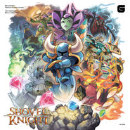 Shovel Knight Definitive Soundtrack Cover Art