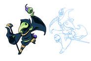 Body Swap Plague Knight Concept 2