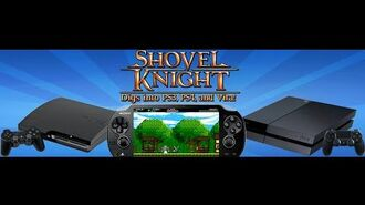 Shovel Knight PlayStation Reveal