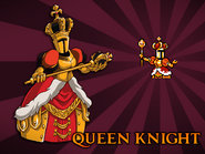 Queen Knight Card