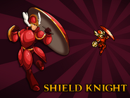 Body Swap Shield Knight Card