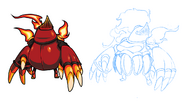Body Swap Mole Knight Concept 2