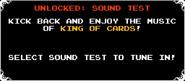 Sound Test Unlock 2