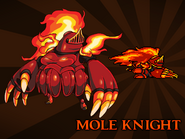 Body Swap Mole Knight Card