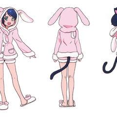 Cyan's pyjamas