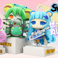 3D Myumon forms from Studio Gooneys' website