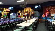 Chuck E. Cheese three-stage