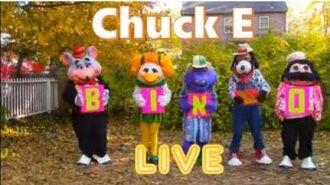 Chuck E and Friends LIVE- BINGO