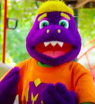 Rockstar Munch puppet (2017-present)