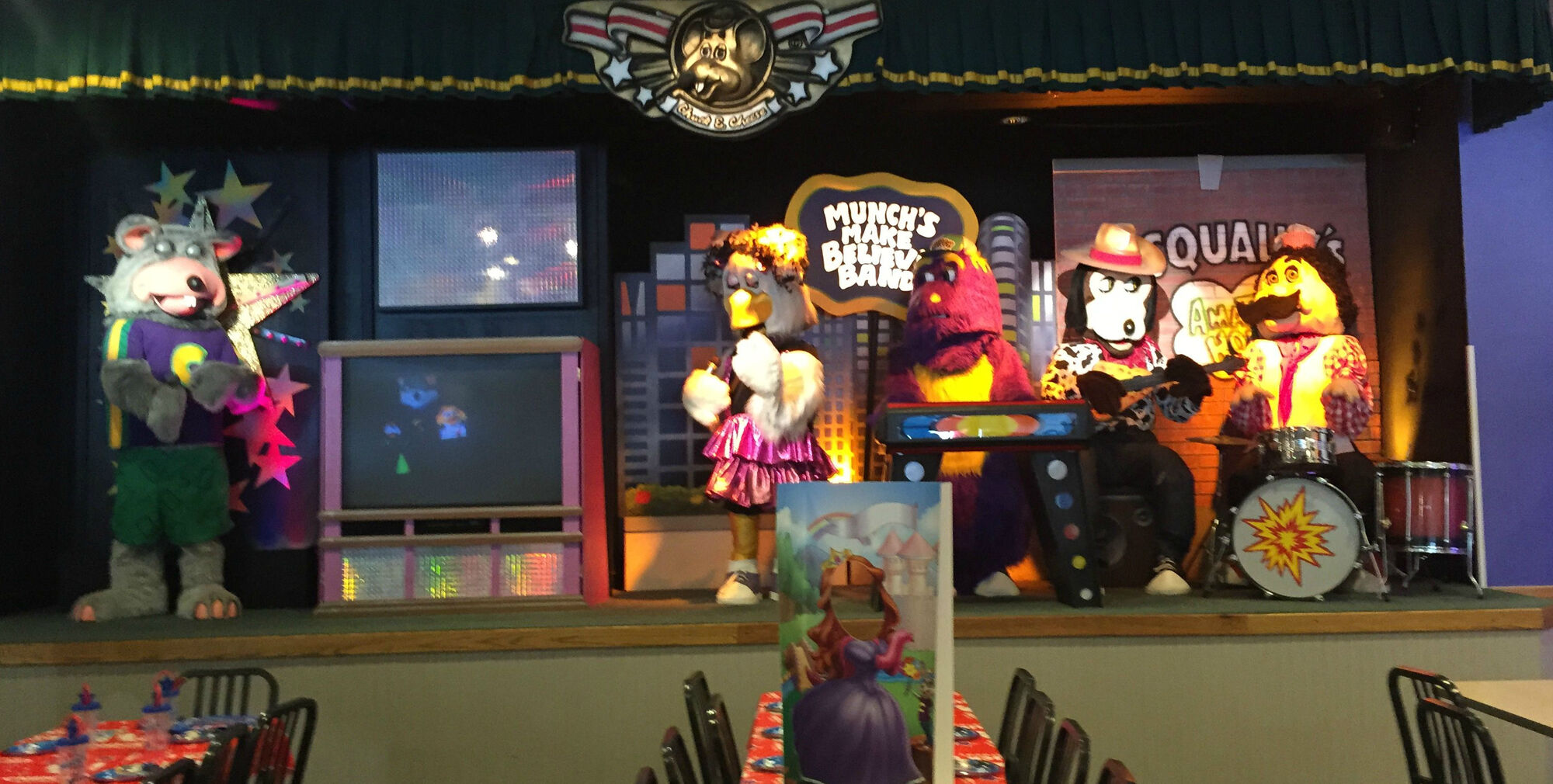 Tacoma Back Pages >> 2-Stage | ShowBiz Pizza Wiki | FANDOM powered by Wikia